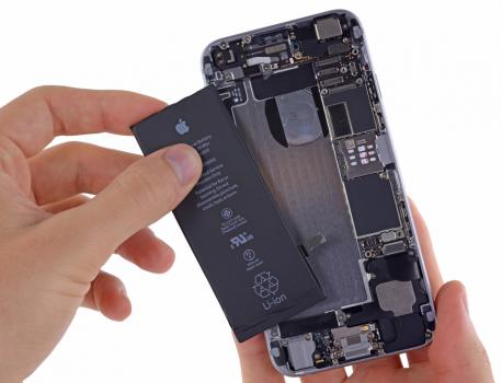 「iPhoneのバッテリーについて」