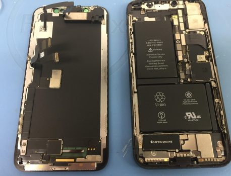 iPhoneXも水没しますよ…