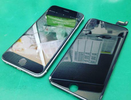 iPhone6s フロントガラス割れ修理