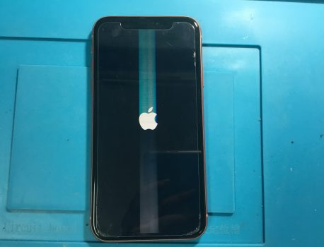 iPhoneXRは水没で液晶が壊れやすいので注意