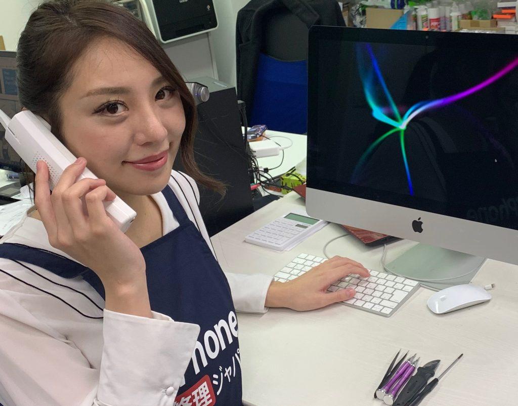 iPhone修理ジャパンのスタッフ