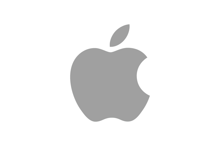 初期化時のリンゴマーク