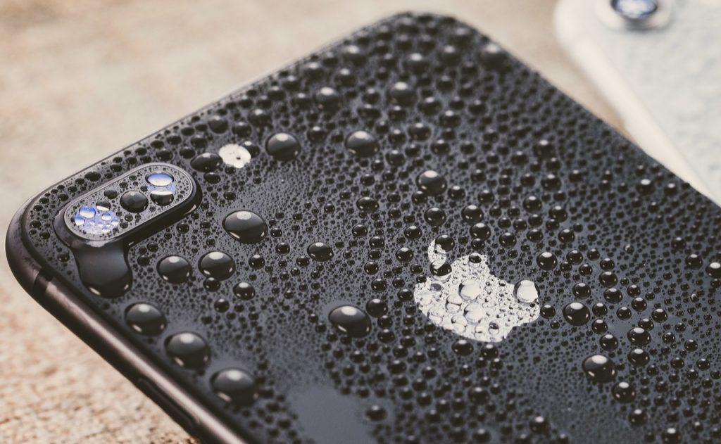 iPhoneが水没した場合