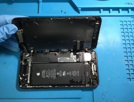 iPhone7×洗濯機
