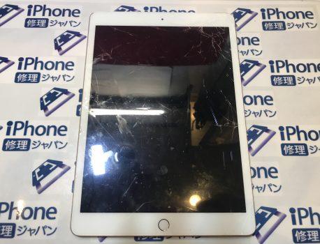 iPad7ガラス割れ修理。