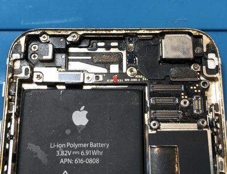 iPhone修理(iPhone6水没復旧修理)